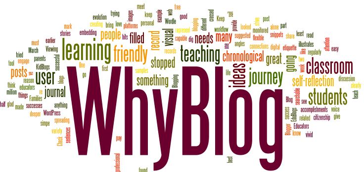 CATCH 5 INSPIRATIONS WHY BLOGGING
