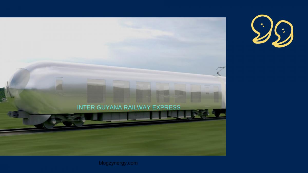 MAKE SURINAME THE CENTER FOR INTERNATIONAL TRAIN TRAVEL